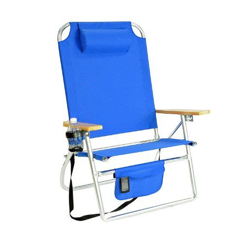 #beach_seats Summer Beach reading gear.yet Heavy Duty Beach Chair . Drink Holder and little neck roll keep you comfy while soaking in the rays. http://www.plainandsimpledeals.com/prod.php?node=49726