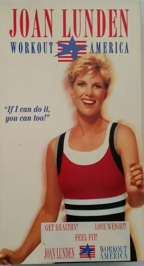 Joan Lunden - Workout America (VHS, 1994)