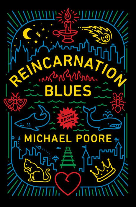 #CoverReveal Reincarnation Blues by Michael Poore