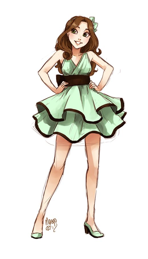 Mint And Chocolate Ice Cream Fullbody By Meago Deviantart Com