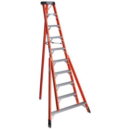 Home Improvement In 2020 Ladder Plastic Step Stool Rolling Ladder