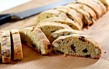 """Mmmmm biscotti…If, like us, you're rather partial to this traditional Italian biscuit, you'll love this """"Cranberry & Almond Biscotti"""" recipe by HIF blogger Susie Burrell. These crunchy snacks are relatively low-cal and provide a light and tasty accompaniment  to tea or coffee. Read more..."""