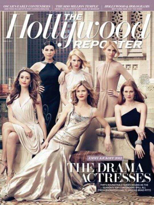 Glamor group poses