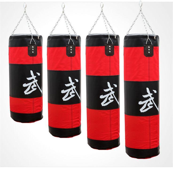Zooboo 70-100 см Training Фитнес ММА Бокс сумка крючком Висячие Сако де boxe Kick Fight сумка Sand удар Пробивание мешок с песком