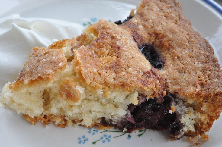 Brombærtærte - nem, sprød og lækker