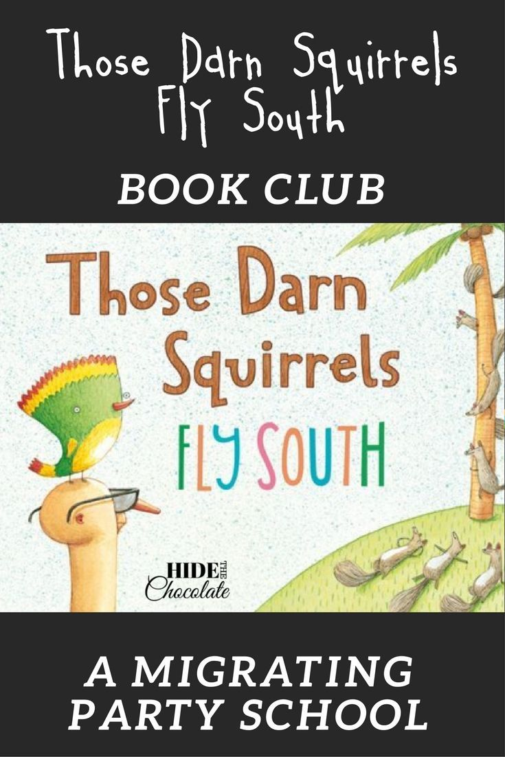 Reading this humorous picture book was the catalyst for a Mexican fiesta, snow fort building, and painting watercolors while learning about migration. Those Darn Squirrels Fly South Book Club was our first mini party school and it was a hit! And, get a FREE Online Book Club! #homeschool #bookclub #naturestudy