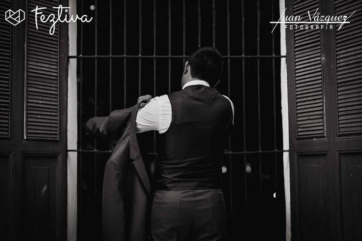 Boda Libni Alcocer & José Miguel Escamilla  Fotografía: Juan Vázquez Fotografía  #wedding #boda #groom #novio #weddingday #Merida #Yucatan #Mexico