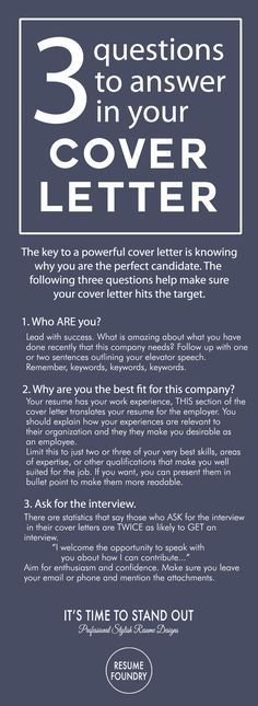 Cover Letter Tips - Outline. How to write a cover letter.: