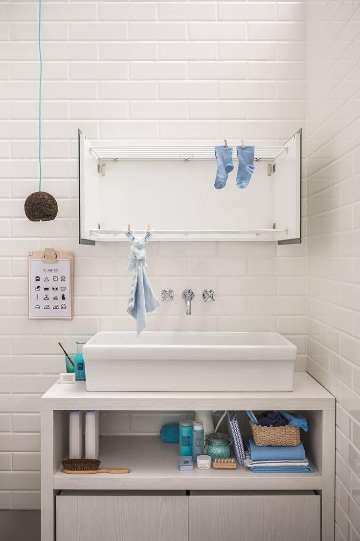 Pi di 25 fantastiche idee su stendibiancheria su - Stendibiancheria da bagno ...