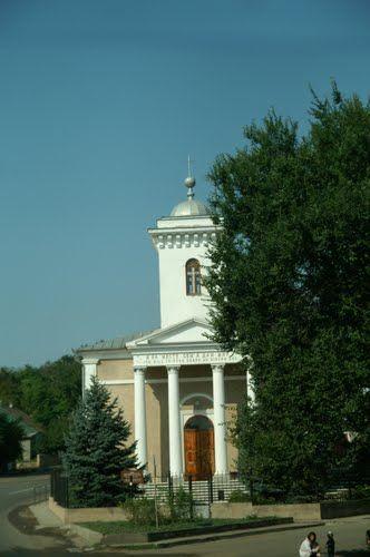 Kirche in Sarata - Reiseluscht