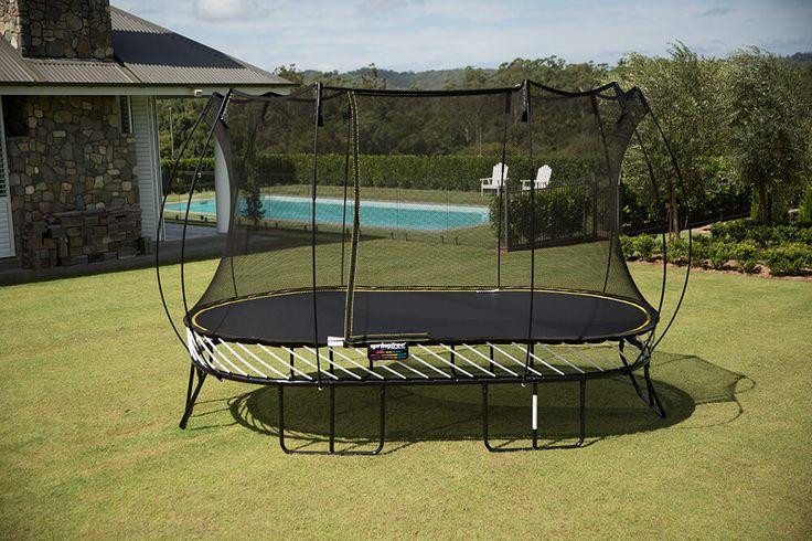 Large Oval SPRINGFREE SAFE Trampoline