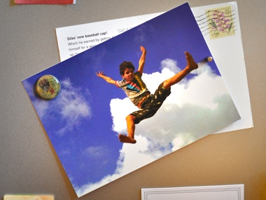 Postcardly - Website that lets you mail actual postcards from your phone or computer. Upload a photo, type your message, and website takes care of mailing it!