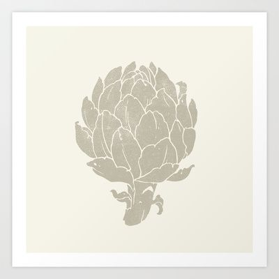 The+Artichoke+Art+Print+by+Teagan+White+-+$17.00