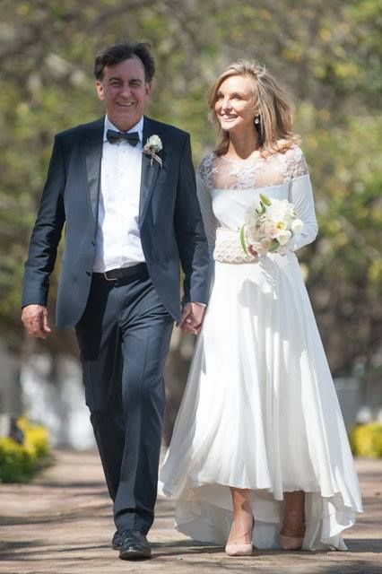 """""""All because two people fell in love"""" Congratulations to Jaap & Marianne who got married @DiamantEstate"""