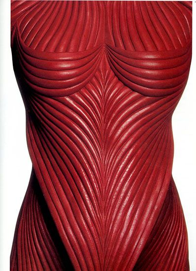 Eiko Ishioka - Fashion & Costume Designer.Detail from The Cell, Jennifer Lopez's immersion suit,