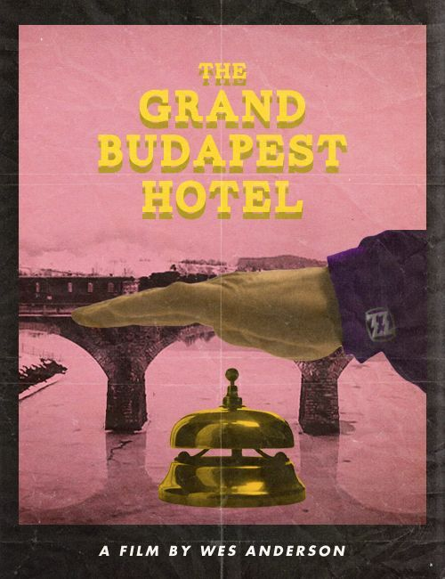Posters Welcome You to the Grand Budapest Hotel | Redesign Revolution