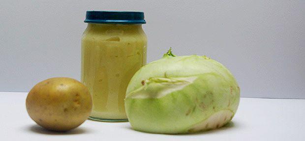 Babybrei - Kohlrabi-Kartoffelbrei