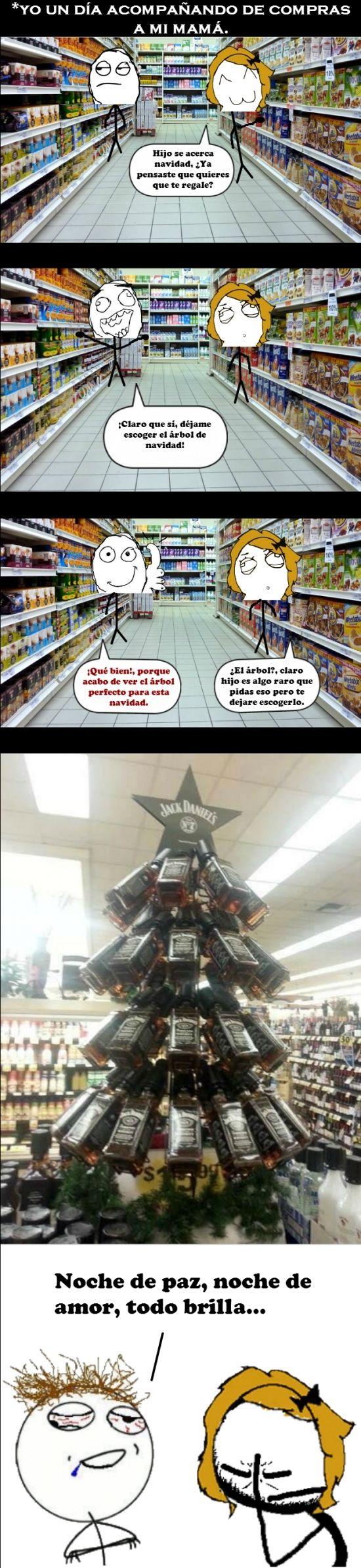 #Navidad #humor en español.