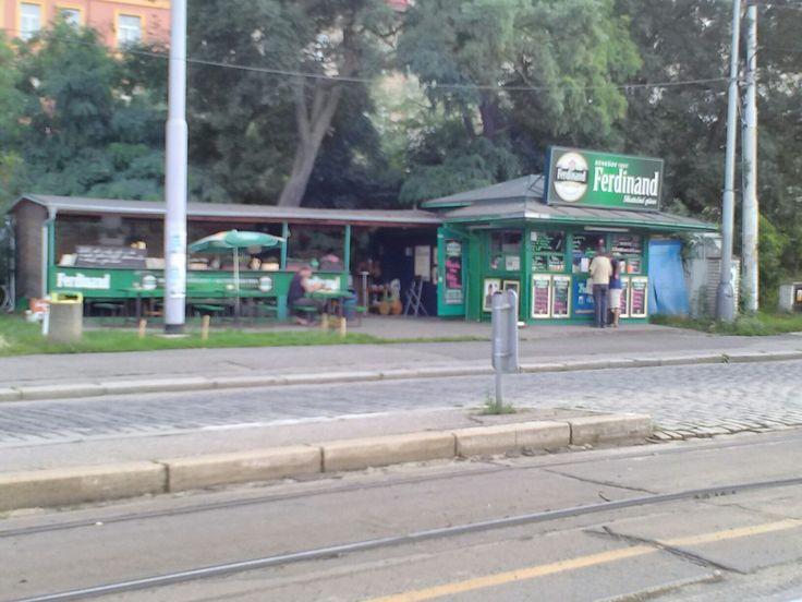 Pitstop Bar, at Vysteviste Tram Stop, Prafue 7