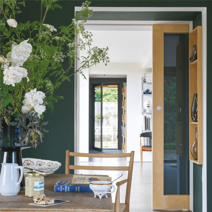 Farrow and Ball Studio Green is becoming very popular for both walls and furniture.