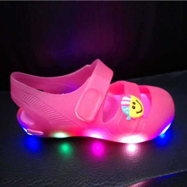 >> Click to Buy << CSXD 2017 SUPER DEAL LED shoes for kids girls boys toddler shoes lights children sandals kids clogs eva garden clogs mule #Affiliate