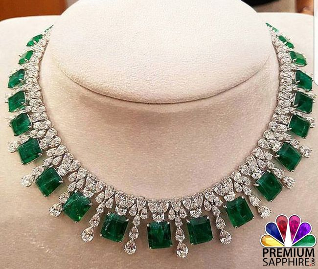 Wedding season are going on. Why not you go with this beautiful Emerald stone necklace which makes your look fabulous @ http://www.premiumsapphire.com/blog/emerald-gemstone-origin-properties-benefits/