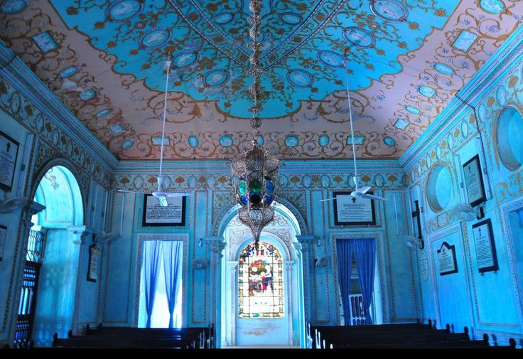 The chapel at La Martiniere boys school, Lucknow, India