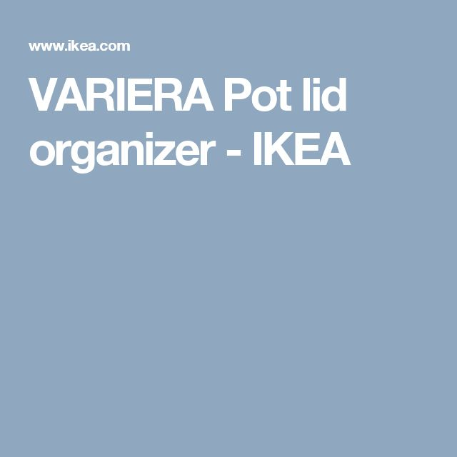 Ikea Godmorgon Kasten Mit Fächern ~ 1000+ ideas about Pot Lids on Pinterest  Organisation, Stoneware