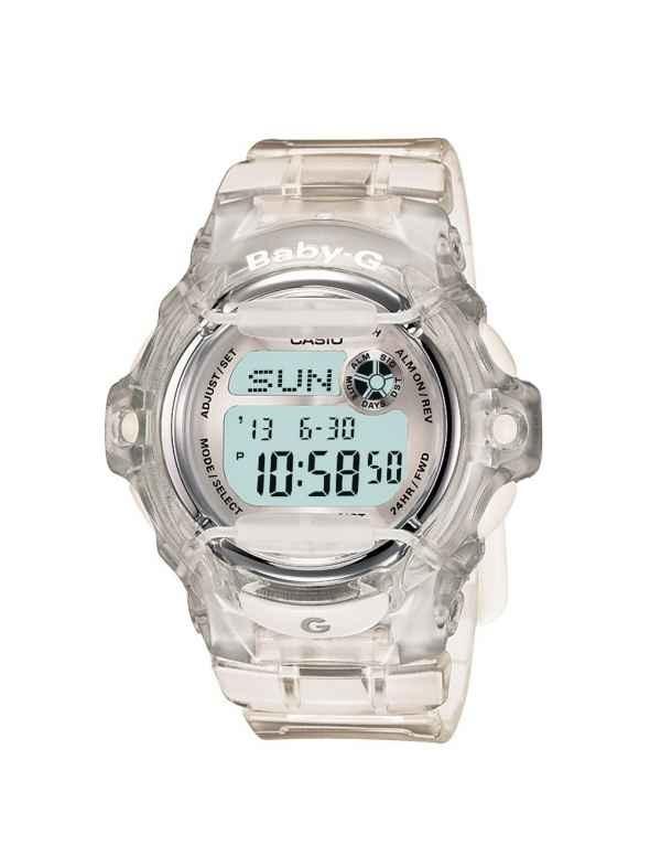 Lovely Ladies Sport Watches Casio BG169R-7B Baby-G Clear Whale Digital Sport Watch