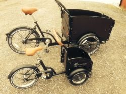 Cargobike Mini for young children