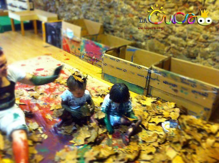 La cuca, espai de criança: Som arbres