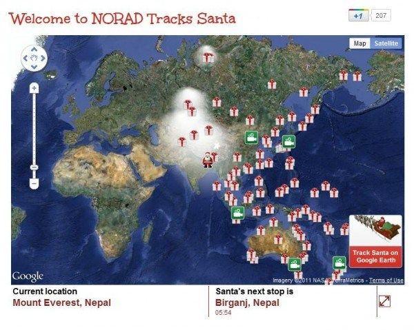 Why Did Government Santa Tracker, NORAD, Ditch Google For Microsoft?