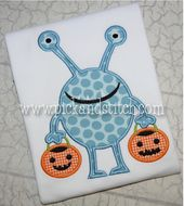 Halloween Monster 1 Applique Design