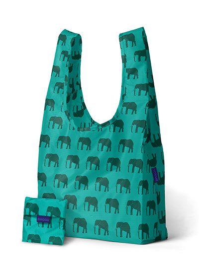 elephant jade BAGGU shopper at Galerie CO