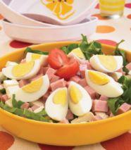 Ensalada de huevo cocido