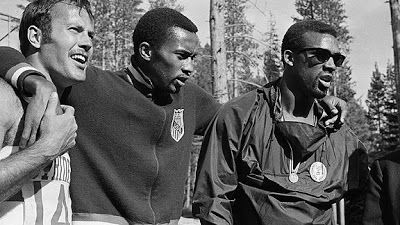 """Peter Norman, It has been said that sharing my silver medal with that incident on the victory dais detracted from my performance.  On the contrary.  I have to confess, """"I was rather proud to be part of it""""."""