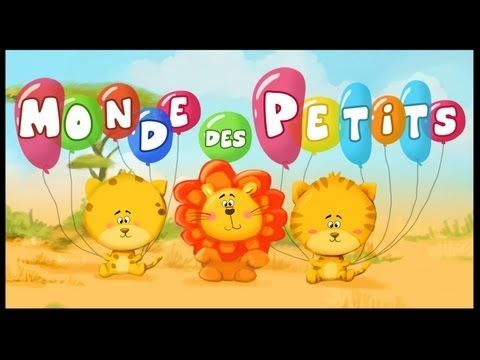 French for kids - by Monde des petits - Comptines et chansons pour enfants - 42min of nursery rhymes - YouTube