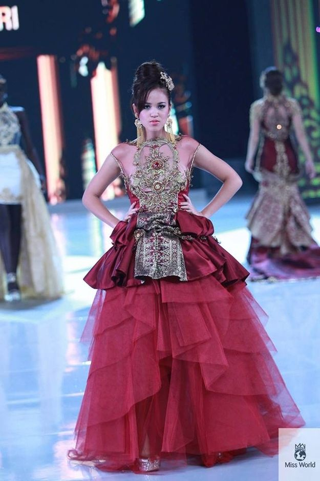 37 Over The Top Evening Gowns From 2013 Miss World Fashion Show Fiji