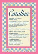 Catalina - Nombres, El significado de los nombres, Tu nombre, Tarjetas postales TuParada.com