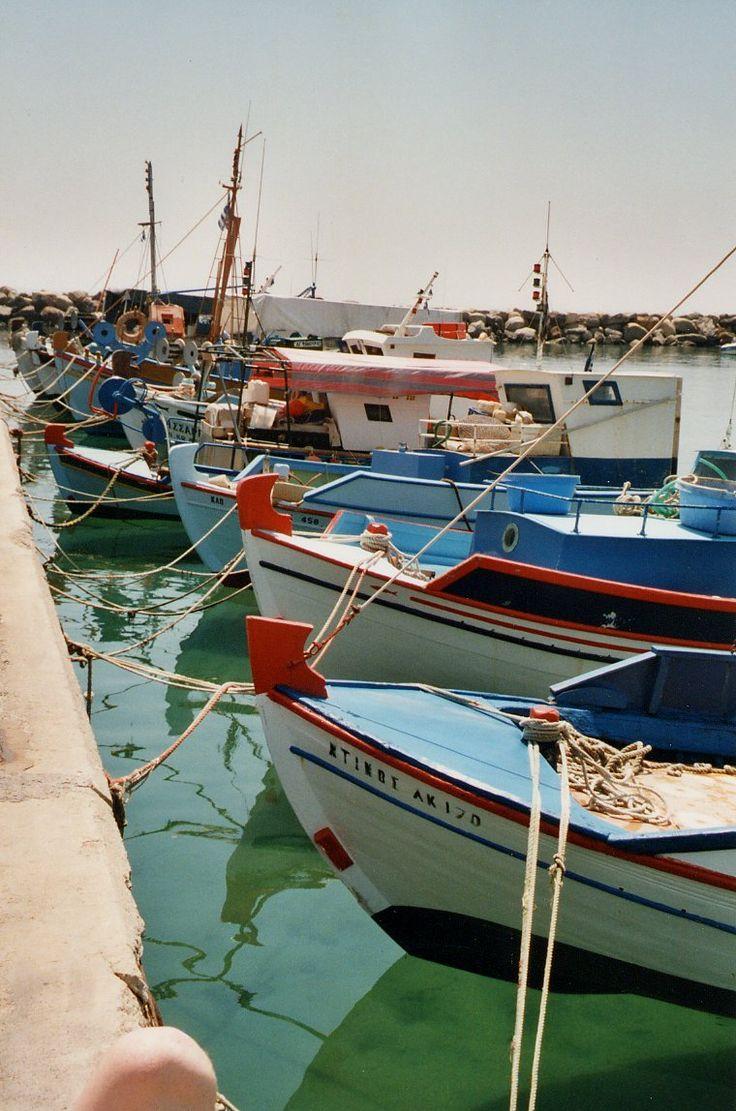 Fishing boats on Kos