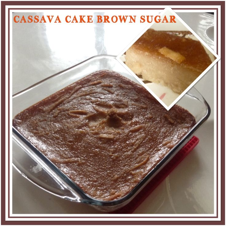 CASSAVA.CAKE BROWN SUGAR