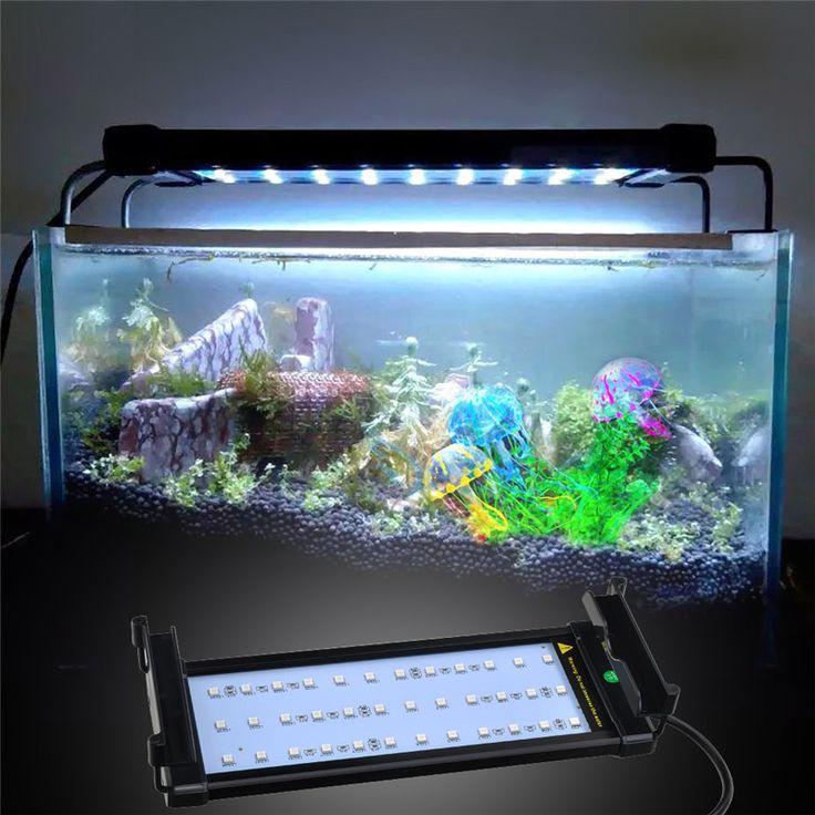 Best 25 aquarium hood ideas on pinterest tank stand for Led fish tank