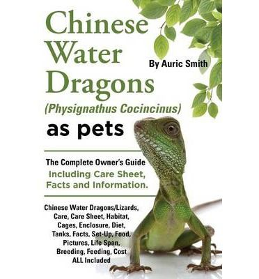 Everything you've ever wanted to know about Chinese Water Dragons. This book was specifically designed for anyone who has ever wanted to own a Chinese Water Dragon. Guaranteed to satisfy your curiosity and answer your questions, this book is a must-have for dedicated pet owners. In this book you will find information regarding Chinese Water Dragon care, habitat, diet, life span, breeding, costs and more. With all of this information packed into one book, this is the definitive guide for ...