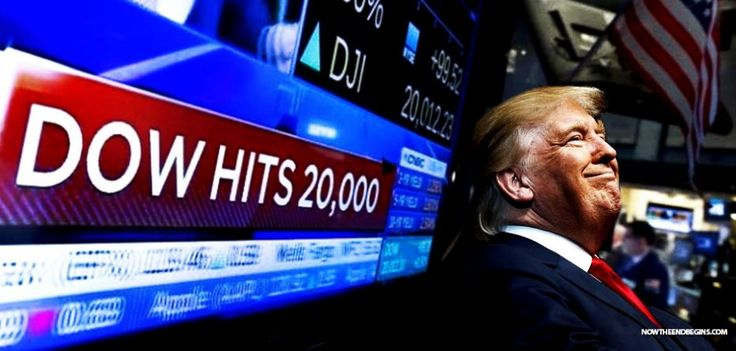 TRUMP BUMP! DOW JONES HITS HIGHEST NUMBER EVER AS INVESTORS RALLY IN SUPPORT OF TRUMP POLICIES