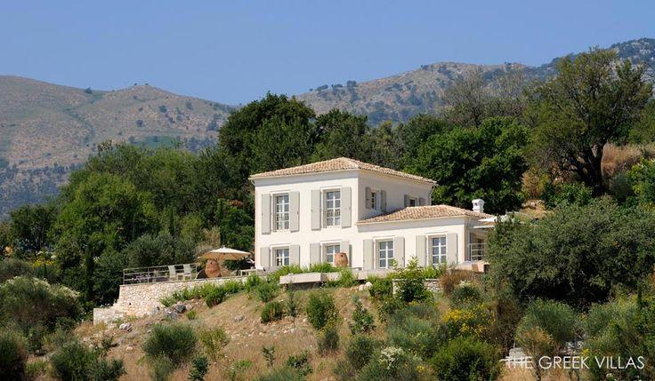 Luxury Corfu Villas, Corfu Villa Cecilia, Ionian Islands, Greece