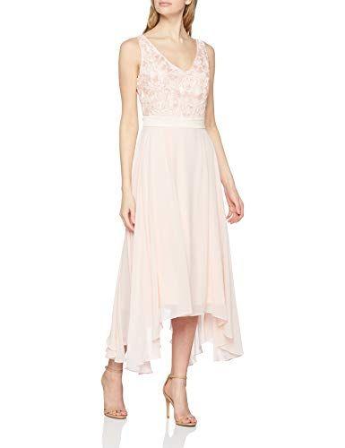 s oliver black label damen 70 903 82 7266 partykleid rosa