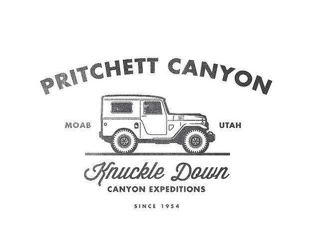 Pritchett Canyon Logo #design #type