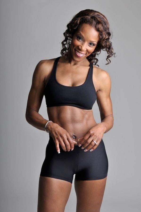 60 Year Old Black Woman Fitness