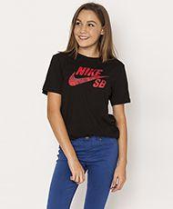 Nike Girls Sb Shadow Icon T-Shirt