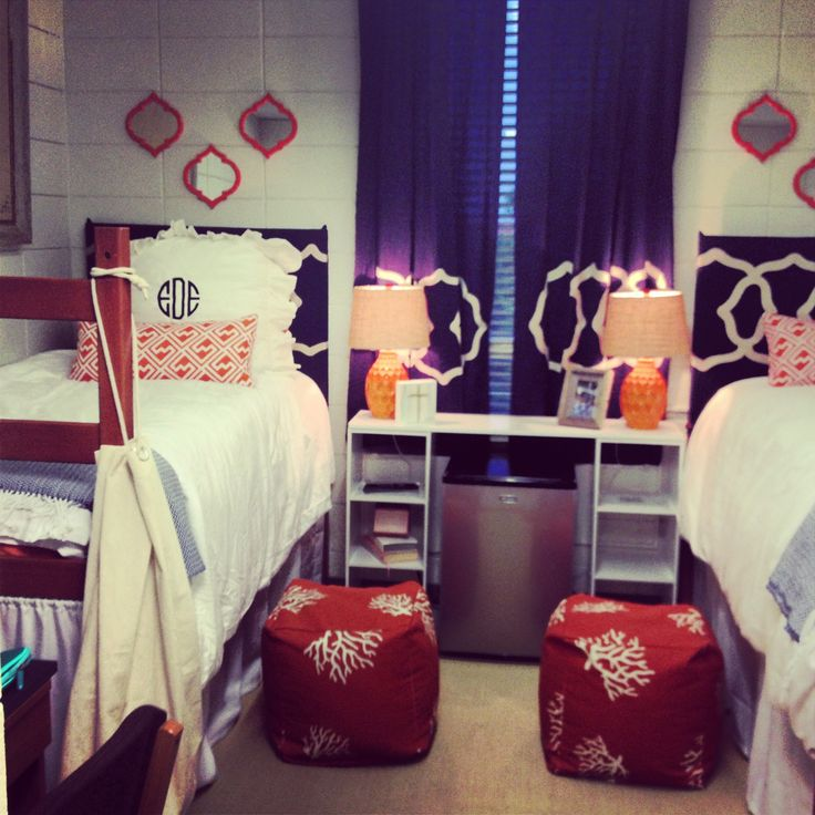 Cutest dorm rooms ever! Save on your dorm decor with  ~ 132407_Dorm Room Design Target